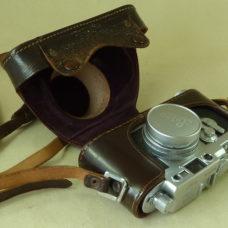 Leica IIIg 1958 Screw Mount 35mm Rangefinder Camera Elmar f=5cm 1:2.8 Lens