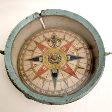 Rare early 18th Century Marine Italian Compass