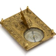 A Bohemian horizontal Sundial from 1731