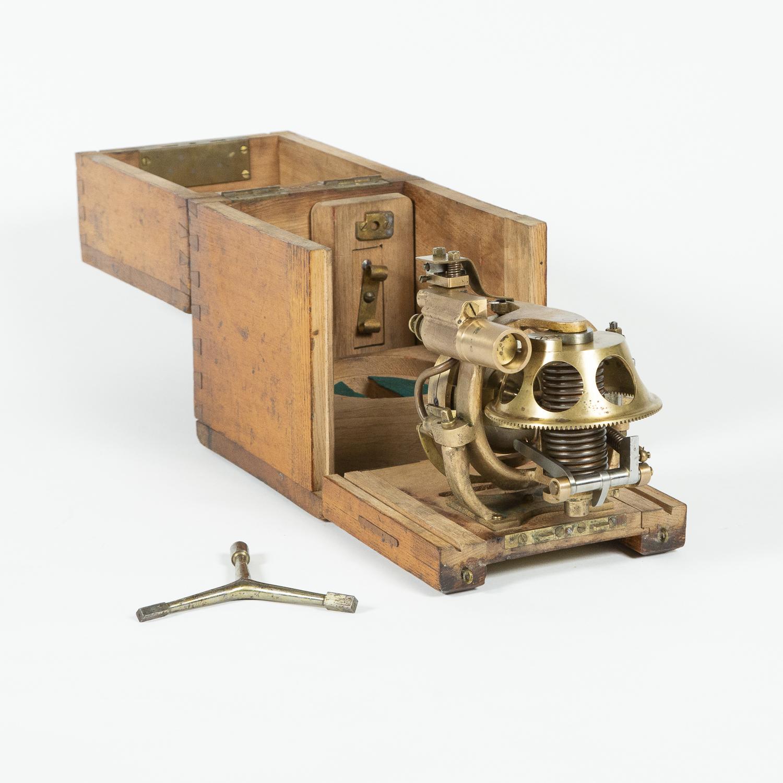 Torpedo gyroscope by Whitehead & Co of Fiume