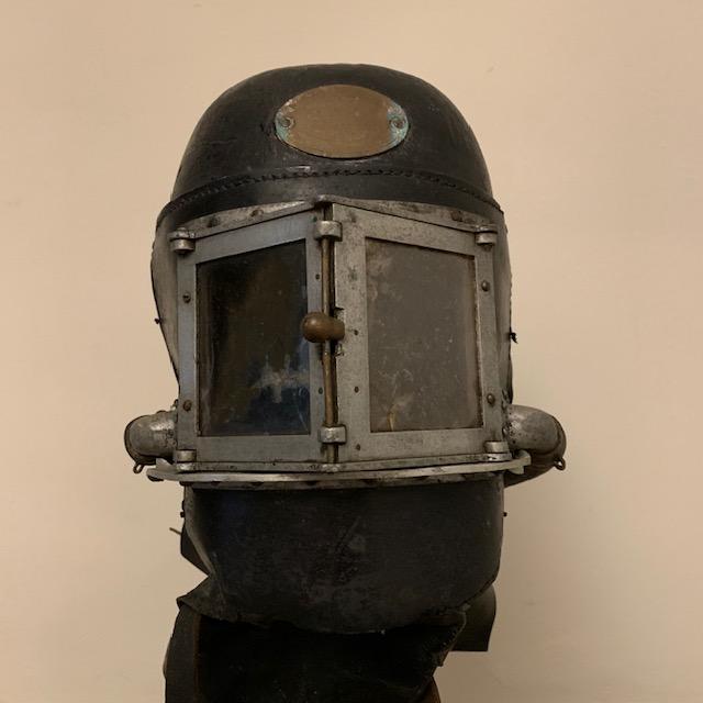 A rare fire fighter's helmet by Siebe Gorman