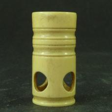 Simple Pocket Microscope Ivorine Magnifier Antique