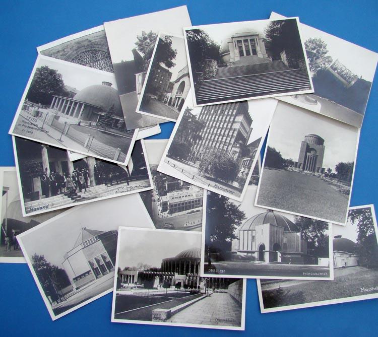 OFFICIAL CARL ZEISS PLANETARIUM PHOTOGRAPHS