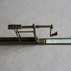 Brass Cased Folding Guinea Scale by Avery