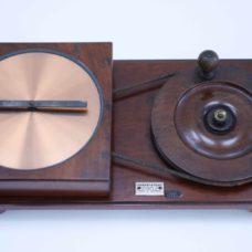Late Victorian Aragos Disc Physics Demonstration Apparatus by Harvey & Peak London