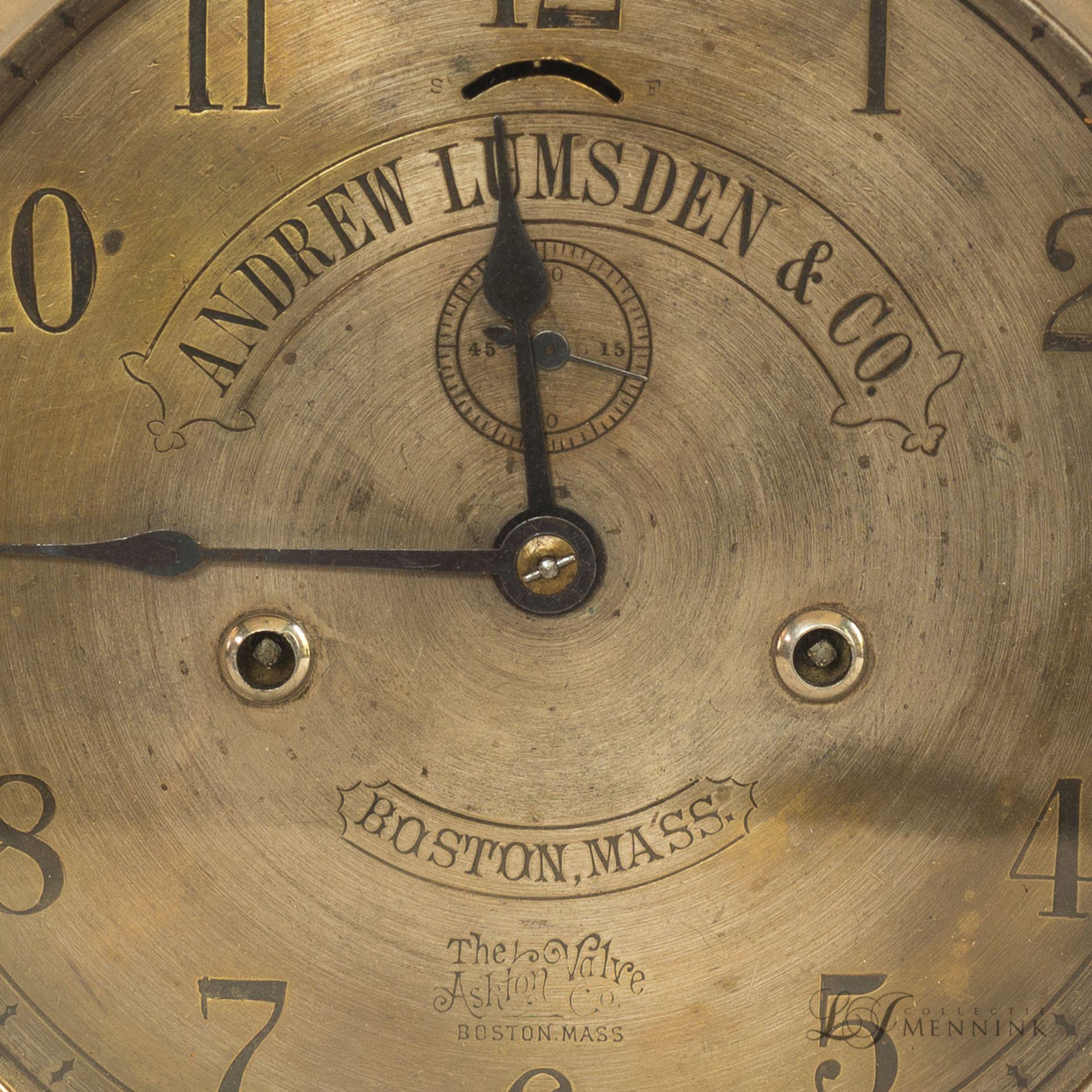 Andrew Lumsden & Co railway clock (27,5 cm)