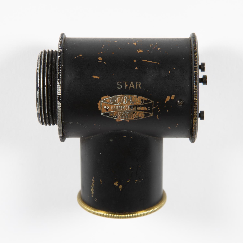 A star diagonal by Broadhurst Clarkson & Co.