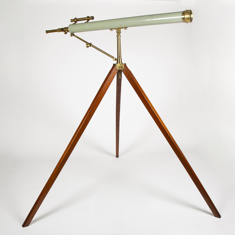 "A 3 ½"" refactor telescope by Utzschneider & Fraunhofer of Munich, circa 1825."
