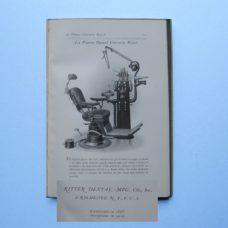 1919 Ritter Dental Catalog