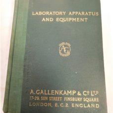 2 GALLENKAMP LABORATORY APPARATUS AND EQUIPMENT CATALOGUES