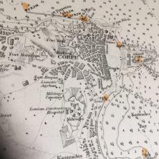 CORFU ISLAND – CORFU ROAD AS SURVEYED BY HMS FIREFLY 1863