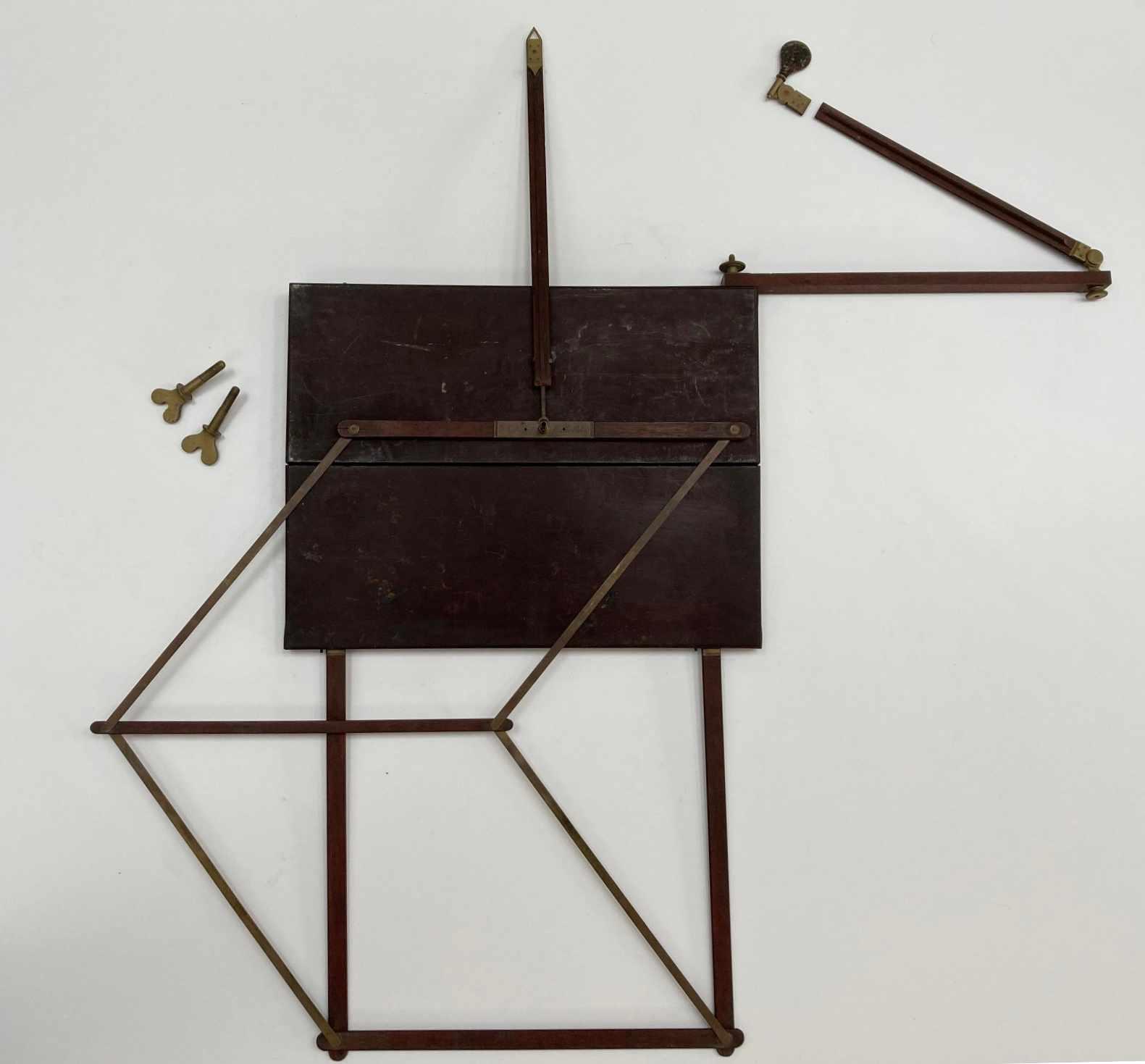 Eighteenth Century James Watt Perspective Machine by John Miller of Edinburgh