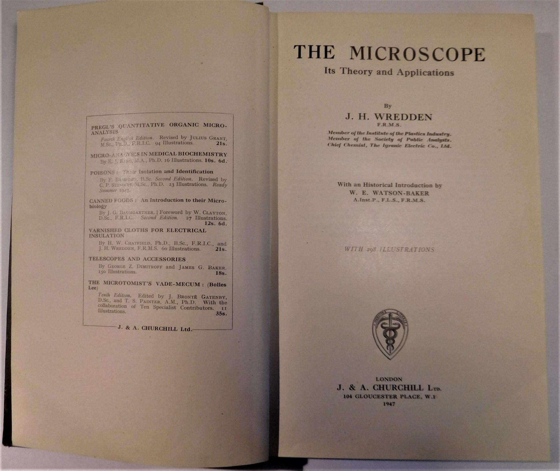 "BOOK ""THE MICROSCOPE"""