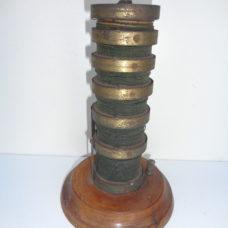 A rare old electric resistor column