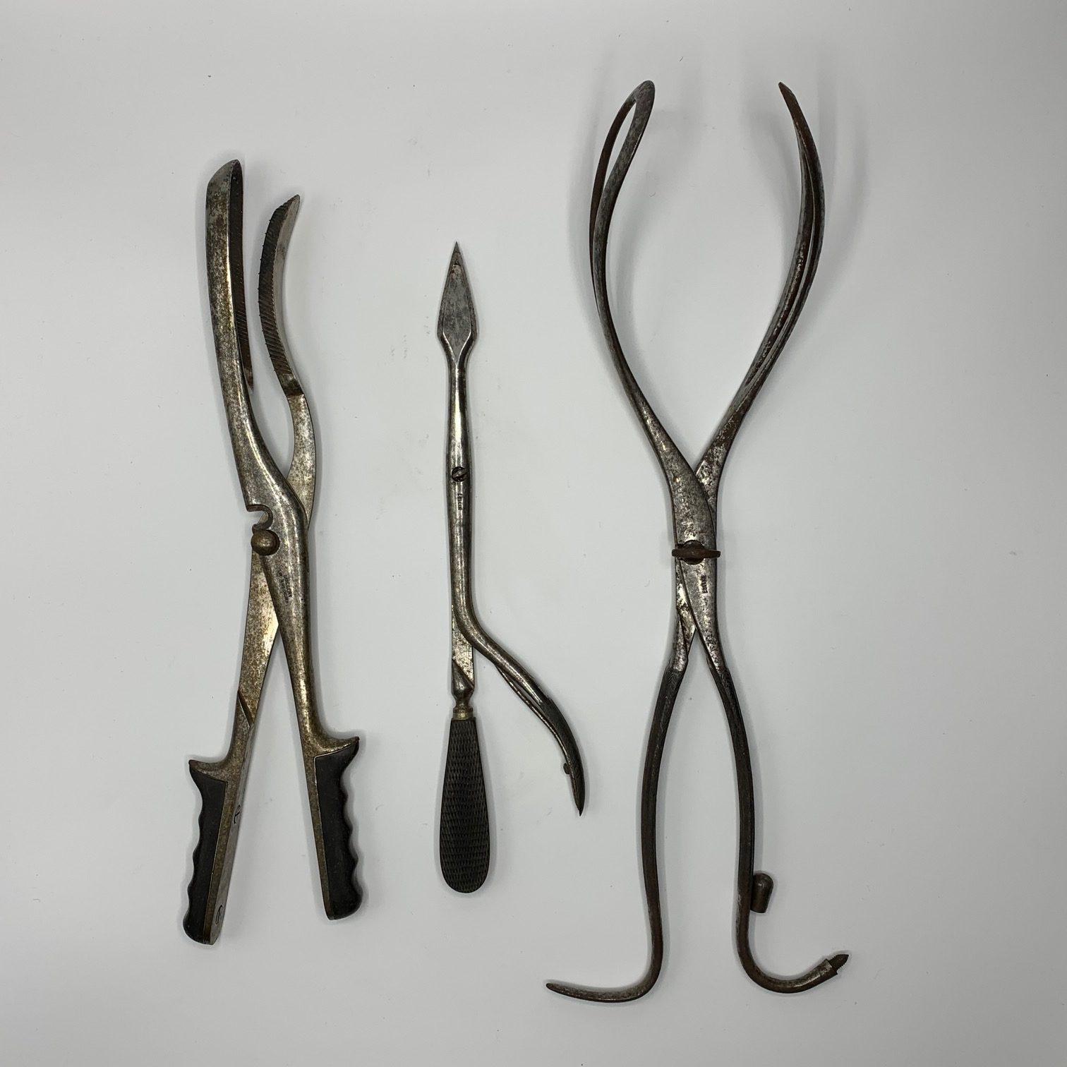 "A rare obstetrical destructive set by the Italian maker ""Lollini"""