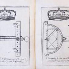 Very rare description of A universal trigonometry instrument – L'Henry-mètre – 1598