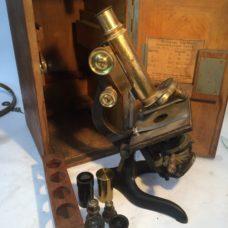 Brass Microscope signed  E Leitz Wetzlar