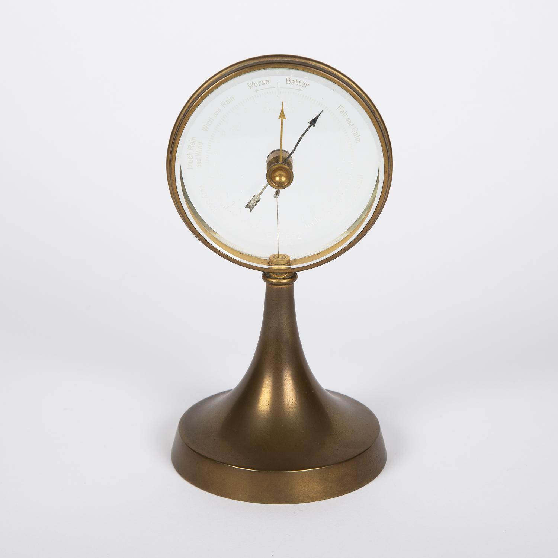 Barometer by C. P. Goerz of Berlin, circa 1925.
