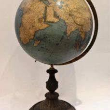 A Dietrich Reimer and Henriech Kiepert terrestrial Globe in Berlin dated 1868