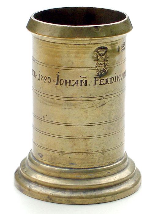 AUSTRIAN OFFICIAL STANDARD MEASURE, 1777