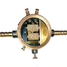 Robert Muencke Berlin Electromagnetic Laboratory Valve Brass – Circa 1880 – Scientific Equipment
