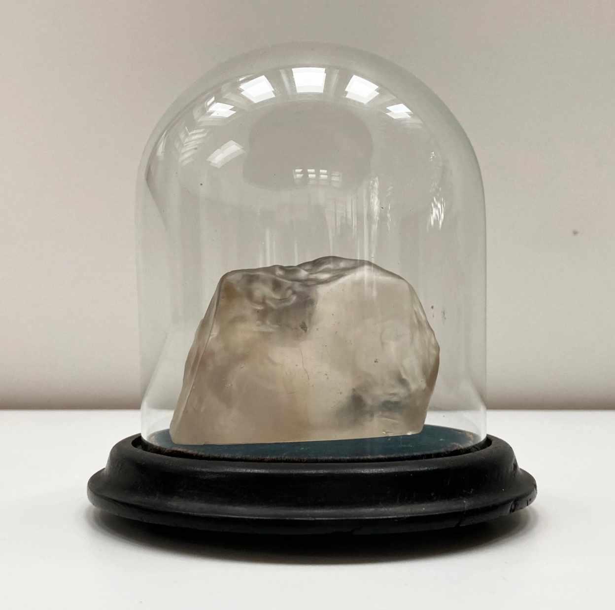 Edwardian Glass Replica of the Uncut Cullinan Diamond – James R Gregory