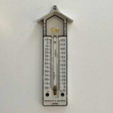 Early Twentieth Century Max Min Thermometer by Negretti & Zambra