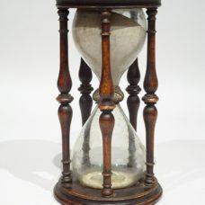 17th century big size boxwood hourglass