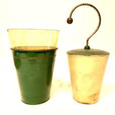 Circa 1880 Queen & Co Philadelphia Electrostatic Leyden Jar