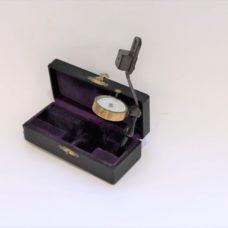 Rare Alphonse Berget's handle topographic and maritime prismatic compass, circa 1908