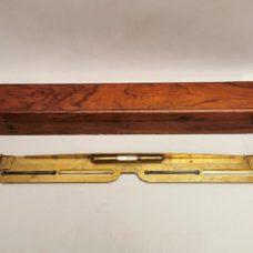 Rare early 19th century italian brass alidade  Signed: