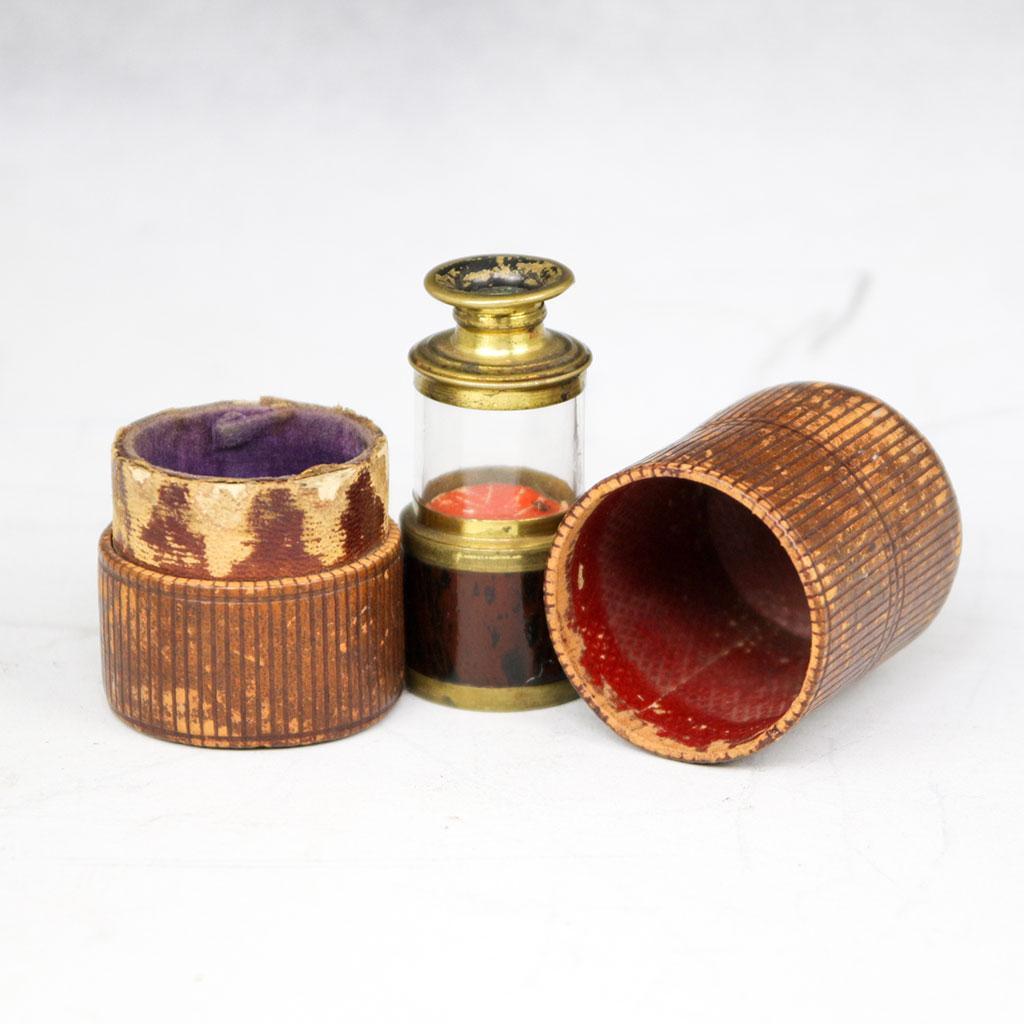 Flea Glass Pocket Microscope (early 19th century)