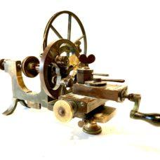 Circa 1860 John Alcock, Prescot, England Brass Watchmakers Mandrel