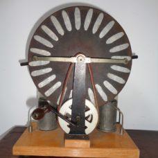 Small Edwardian Wimshurst Machine