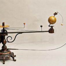 Beautiful 19th Century Planetarium (Orrery) By Felkl  for Italian market