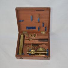 Small compound microscope – Elliott Bros, London.