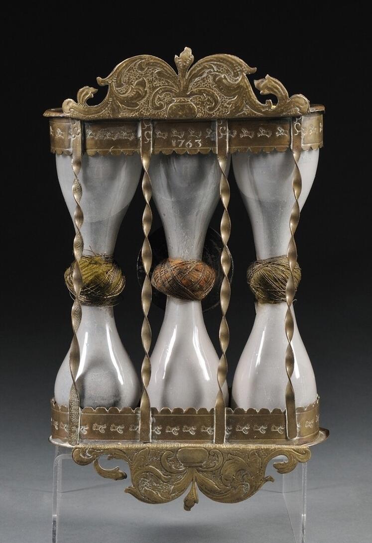 Museum 18Th Century Three bulb sandglass