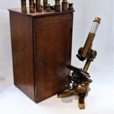 A large Seibert microscope – Stativ 2 – circa 1880