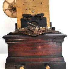 Emile Baudot Telegraph by J  CARPENTIER PARIS
