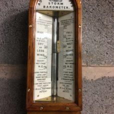 Oak  Admiral Fitzroy Storm Barometer by Negretti & Zambra ( Sea Coast)