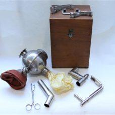 A fine  and cased Ombredanne inhaler, circa 1920s'