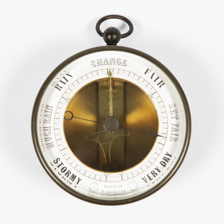 Bourbon type barometer by Jules Richard of Paris, circa 1860.