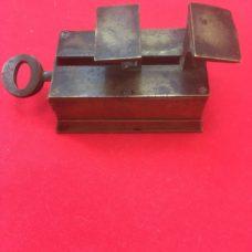 A Rare Brass Mechanical Pharmaceutical Powder Folder