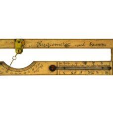 Hair hygrometer after Horace Bénédict de Saussure, late 18th c.
