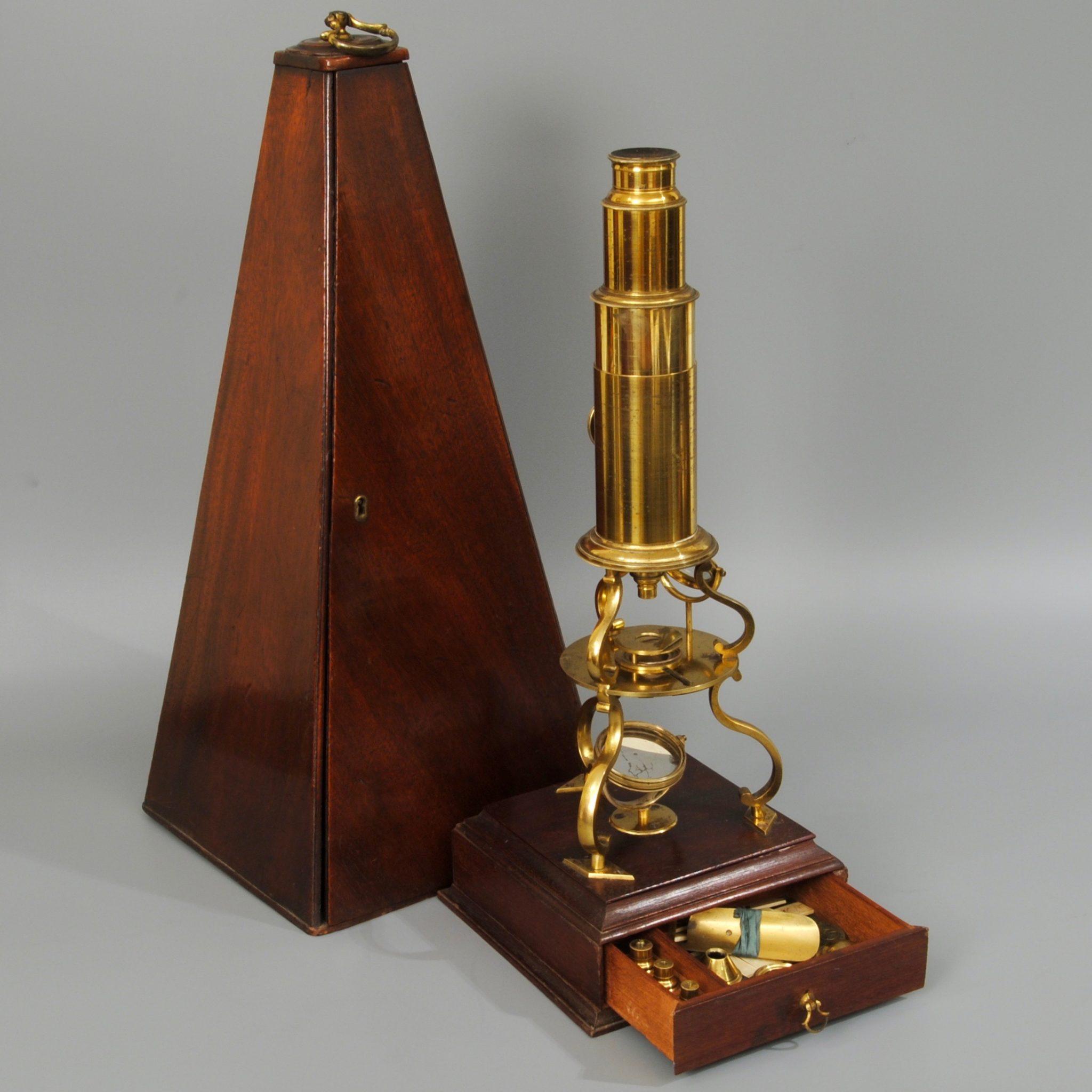 An 18th century Culpeper microscope by Adams London