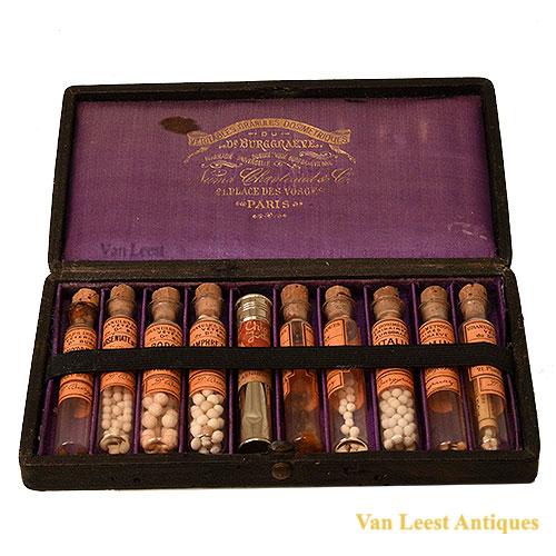 Veritables Granules Dosimetriques du Dr. Burggraëve set.